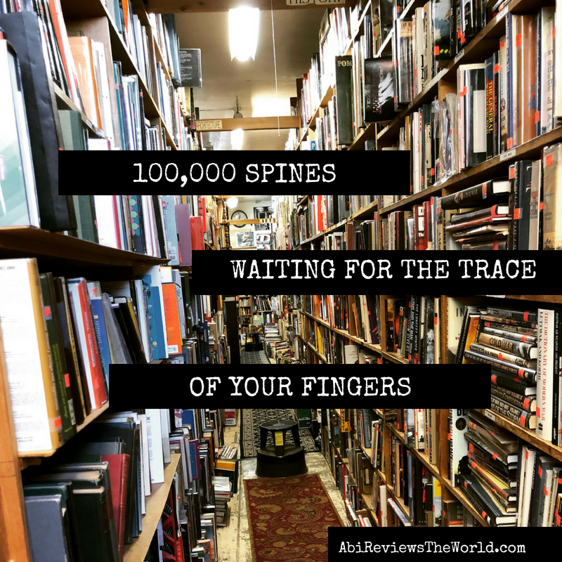 Just you and 100,000 spines